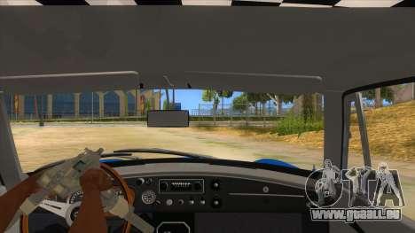 Richard Hammond MGB GT Top Gear pour GTA San Andreas vue intérieure