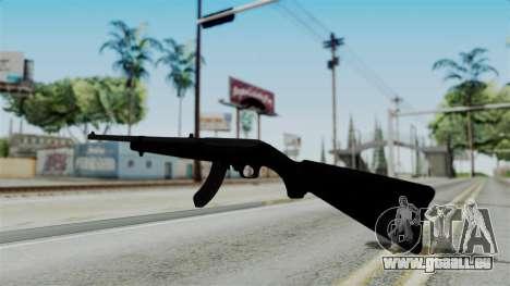 No More Room in Hell - Ruger 10 22 pour GTA San Andreas deuxième écran