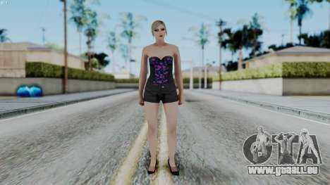 Female Skin 1 from GTA 5 Online pour GTA San Andreas deuxième écran