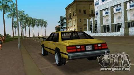 Premier pour GTA Vice City sur la vue arrière gauche