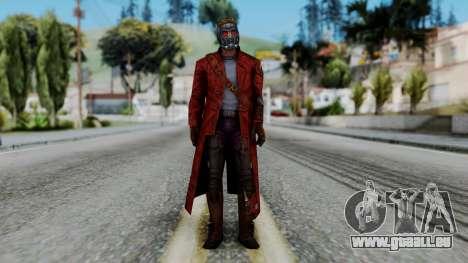 Marvel Future Fight - Star-Lord pour GTA San Andreas deuxième écran