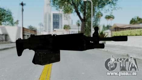 GTA 5 Combat MG für GTA San Andreas zweiten Screenshot
