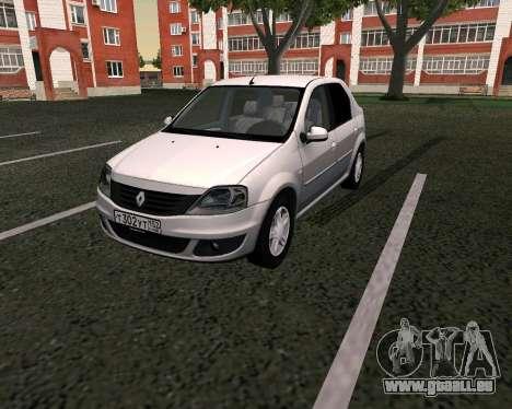 Dacia Logan für GTA San Andreas