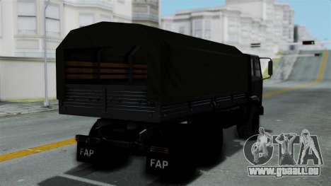 FAP Vojno Vozilo v2 für GTA San Andreas linke Ansicht