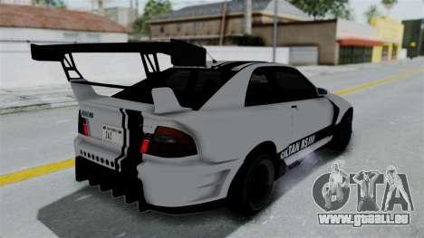 GTA 5 Karin Sultan RS Drift Double Spoiler PJ pour GTA San Andreas vue de dessous