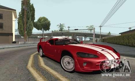 Dodge Viper Competition Coupe pour GTA San Andreas