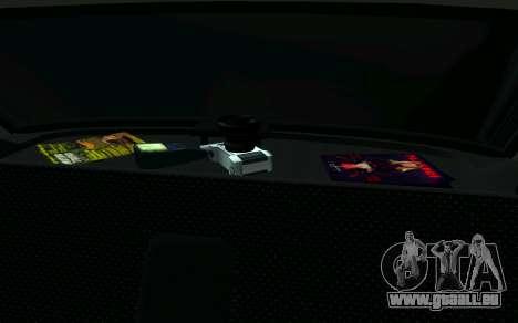 VAZ 2107-Taxi für GTA San Andreas rechten Ansicht