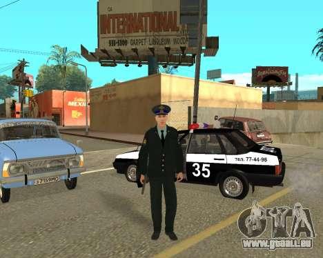 La Peau Est Sergei Glukharev pour GTA San Andreas troisième écran