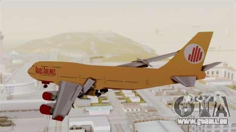 GTA 5 Jumbo Jet v1.0 Adios Airlines pour GTA San Andreas laissé vue