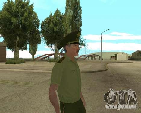 Senior warrant officer danyluk für GTA San Andreas her Screenshot