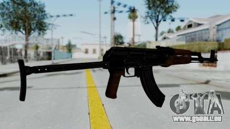 New HD AK-47 pour GTA San Andreas deuxième écran