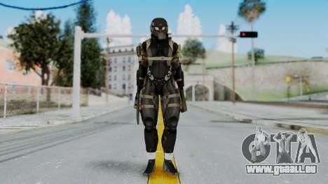 Frog from Metal Gear Solid 4 pour GTA San Andreas deuxième écran