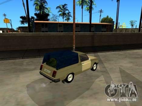 VAZ 2104 Ramassage pour GTA San Andreas vue arrière