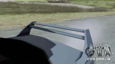 RC Turismo pour GTA San Andreas vue de droite