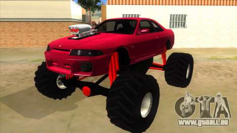 Nissan Skyline R33 Monster Truck für GTA San Andreas
