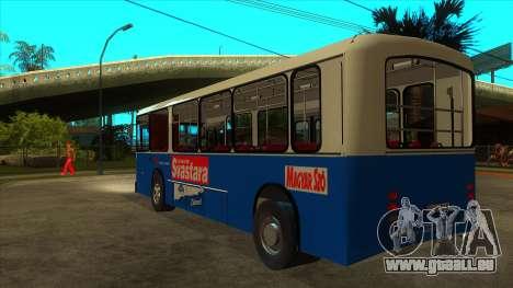 Ikarbus - Subotica trans für GTA San Andreas zurück linke Ansicht