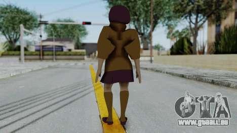 Scooby Doo Velma für GTA San Andreas dritten Screenshot