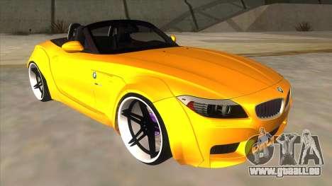 BMW Z4 Liberty Walk Performance für GTA San Andreas Rückansicht