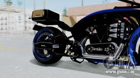 Turbike 4.0 pour GTA San Andreas vue de droite
