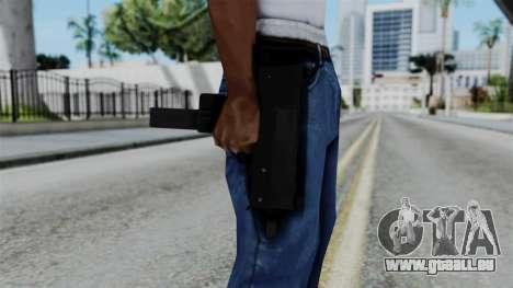 No More Room in Hell - MAC-10 für GTA San Andreas dritten Screenshot