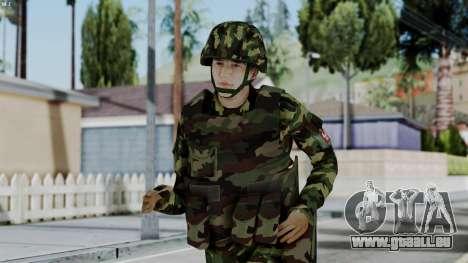 Srpski Vojnik 1999 pour GTA San Andreas