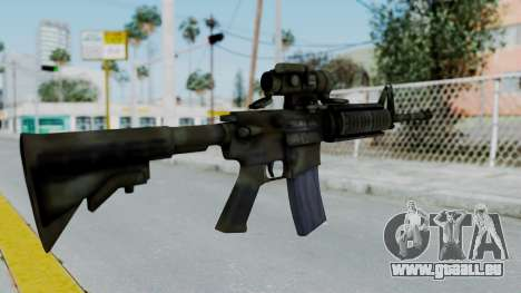 Arma2 M4A1 CCO Camo pour GTA San Andreas deuxième écran