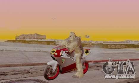 Chewbacca pour GTA San Andreas deuxième écran