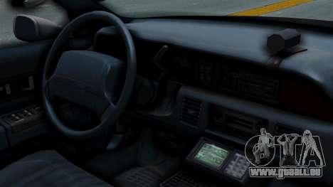 Chevrolet Caprice 1991 CRASH Division für GTA San Andreas rechten Ansicht