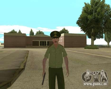 Senior warrant officer danyluk für GTA San Andreas