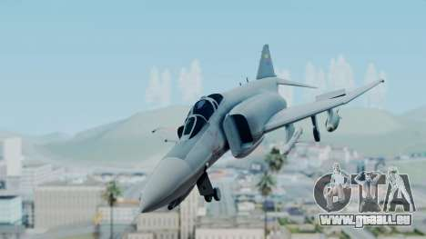 F-4E Phantom II Royal Noord-Hollandian Air Force pour GTA San Andreas