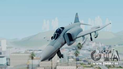 F-4E Phantom II Royal Noord-Hollandian Air Force pour GTA San Andreas