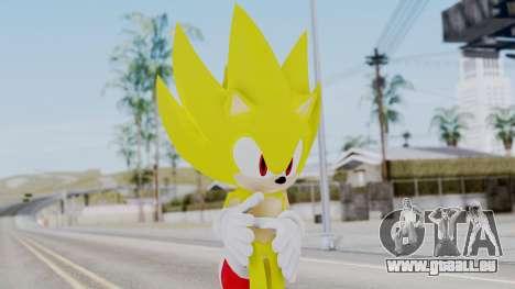 Super Sonic The Hedgehog 2006 pour GTA San Andreas