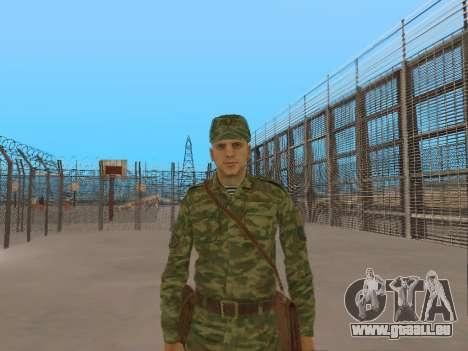L'atmosphère de soldat pour GTA San Andreas
