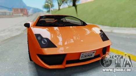 GTA 5 Pegassi Vacca IVF pour GTA San Andreas vue de droite