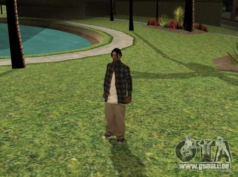 Black fam2 pour GTA San Andreas
