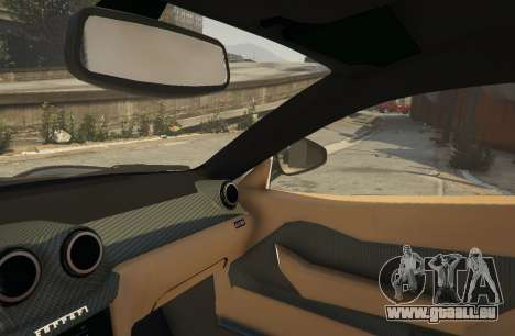 GTA 5 Ferrari 599 GTO[Replace] droite vue latérale