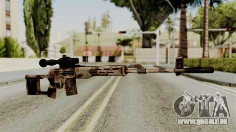 Dragunov Elite pour GTA San Andreas