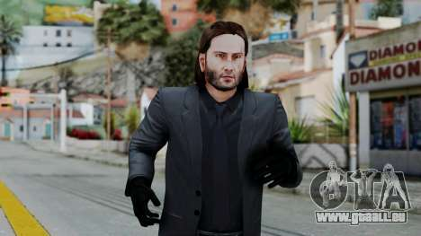 John Wich without Glasses - Payday 2 für GTA San Andreas dritten Screenshot