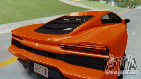 GTA 5 Pegassi Vacca IVF pour GTA San Andreas vue arrière