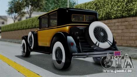 GTA 5 Albany Roosevelt Valor IVF pour GTA San Andreas laissé vue