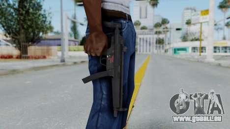 Arma AA MP5A5 pour GTA San Andreas troisième écran