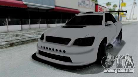 GTA 5 Karin Sultan RS Drift Double Spoiler PJ pour GTA San Andreas salon