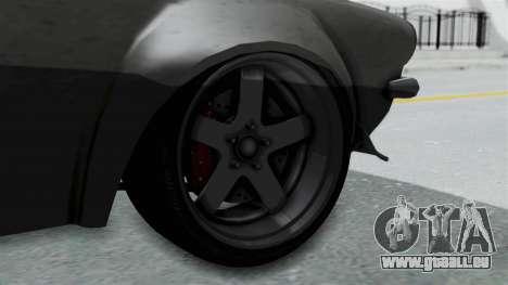 GTA 5 Nightshade pour GTA San Andreas sur la vue arrière gauche