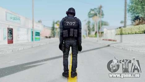 707 No Mask from CSO2 pour GTA San Andreas troisième écran