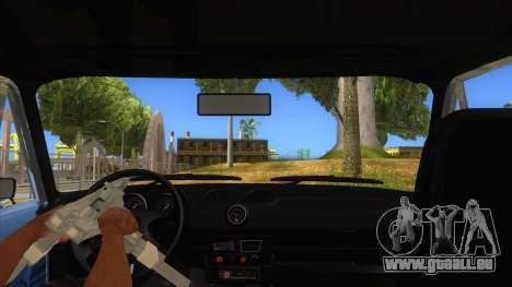 VAZ 2106 Drift Edition für GTA San Andreas Innenansicht