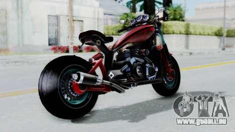 Turbike 3.0 pour GTA San Andreas laissé vue