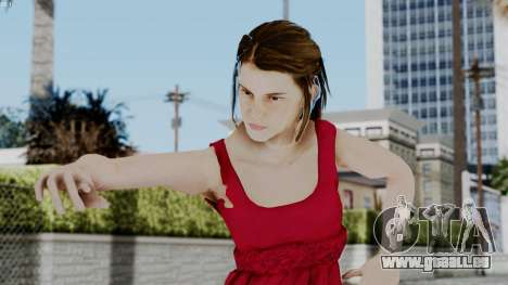 Hermione Dress pour GTA San Andreas