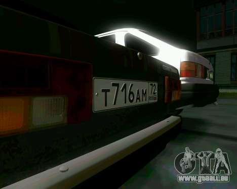 VAZ 2107 Hobo pour GTA San Andreas vue arrière