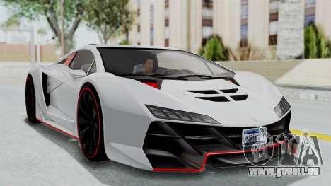 GTA 5 Zentorno Tron für GTA San Andreas