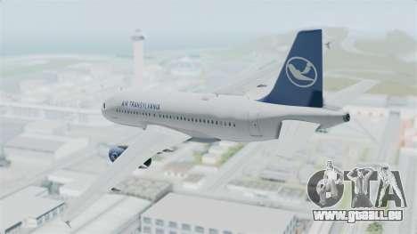 Airbus A319 Air Transylvania pour GTA San Andreas laissé vue